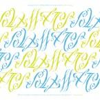 soulmates ambigram poster